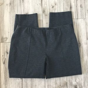 J. Jill Slim Leg Stretch Dark Gray Pants Size M(P)